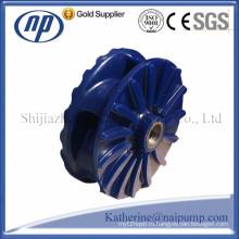 Горизонтальный и вертикальный шламовые насосы Полиуретановый импеллер (AH / SP)