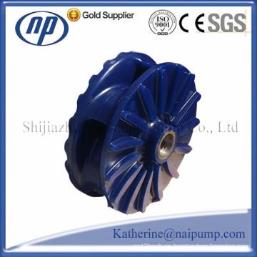 Impulsor de poliuretano de la bomba de la lechada horizontal y vertical (AH / SP)