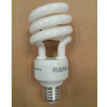 20W Half Spiral Compact Fluorescent Lamp with Tri-Phosphor Powder