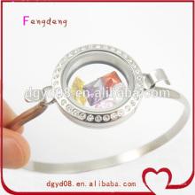 Dernières créations de bracelet vis en acier inoxydable pour les filles