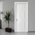 Puertas de dormitorio interiores de hogar blanco sólido