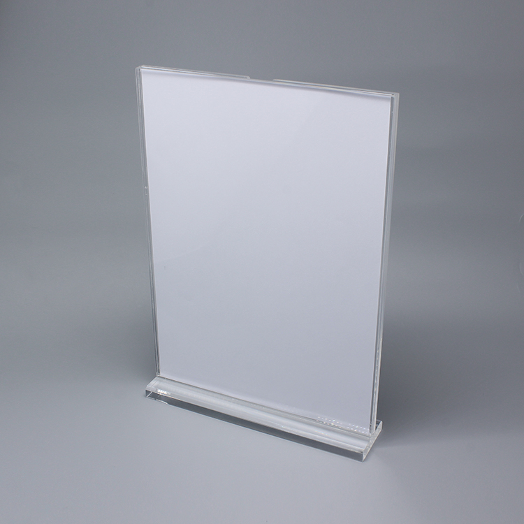 A 3r0052 Cheap Small Tabletop Acrylic Sign Holder
