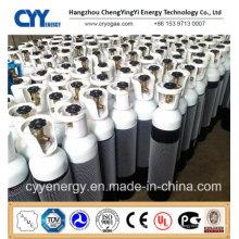 Cylindre de gaz à haute teneur en dioxyde de carbone à combustion artificielle à haute pression