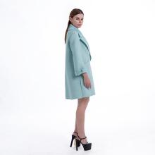 Lady's classic cashmere blend coat