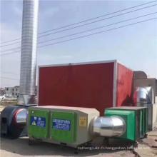 Hebei usine UV photolyse équipement d'oxydation ozone purificateur d'air