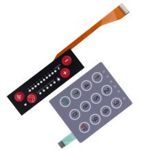 Interruptor de lámina de membrana táctil para equipos industriales