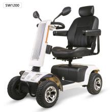 silla de ruedas con panel solar