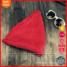 Latest style wholesale customized knitted women winter hat