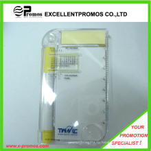 Рекламный многофункциональный чехол для КП с липким блокнотом с линейкой (EP-R9100)