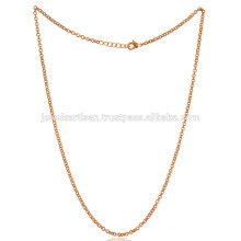 Gold Plated Fashion Chain 20 Inch