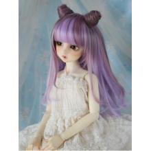 BJD Wig Girl Purple Pink Hair [374-375] для SD / MSD / YSD