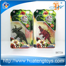 Hot Sale Static animal for kids plastic walking animal toy for small dinosaurs