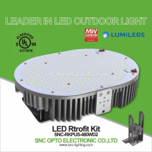 Temperature Control Protection UL Approved LED Parking Lot Light Retrofit Kits 480W