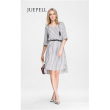Casual Stripe Tunique Femmes Dress