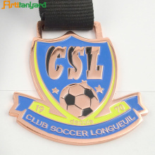 Soccer Metal Medal of Honor Med Plating