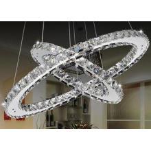 Funky Modern K9 Crystal LED Chandelier Lamp / Luxurious Pen
