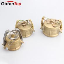 Conexão Quick Camlock GutenTop Conectar Cam de Latão e Tipo de Acoplamento de Ranhura DC