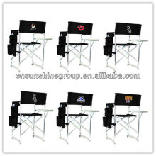 Chaise pliante directeur d'aluminium de loisirs