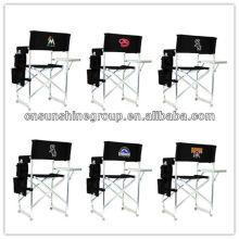 Cadeira de diretor de alumínio dobrável lazer