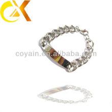 316L Acier inoxydable ID étiquettes laser gravure bracelet