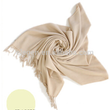 Ladies Pure color Rayon and Polyester Long Scarf