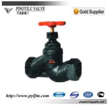russian standard cast iron screw globe valve