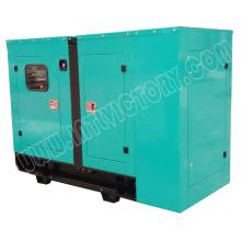 12kw / 16kVA tipo silencioso Quanchai motor diesel conjunto generador
