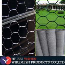 Malla de alambre hexagonal galvanizado por valla de alambre de rollo