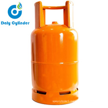 Daly Butane Gas Bottle 25lbs LPG Cylinder for Haiti