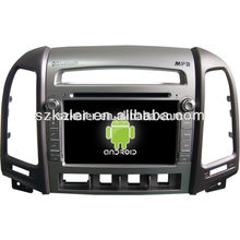 Factory directly !Quad core car dvd player android for car,GPS/GLONASS,OBD,SWC,wifi/3g/4g,BT,mirror link for New Stantafe