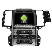Android 4.4 Mirror-link TPMS DVR car MP5 player for Ford Taurus with GPS/Bluetooth/TV/3G
