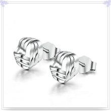 Moda jóias de prata jóias 925 brinco de prata esterlina (se026)