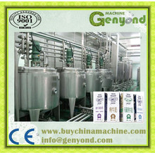3000bph Pasteurized Milk Processing Line Machinery, Plant with Automatic Top Carton Package