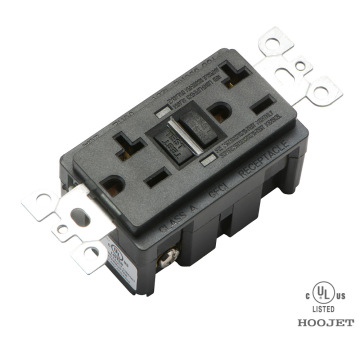 GFCI American 20A Electrical Led Toma de corriente