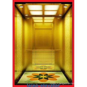 Eclaté en miroir Cheveux en acier inoxydable Ascenseur à domicile Ascenseur à domicile