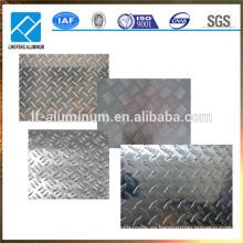 Ventas calientes y aluminio de alta calidad comprobado / placa roscada con precio de fábrica