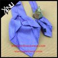 Wholesale Custom Made 100% Striped Woven Seven Fold Silk Tie