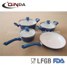 Custom made forged ceramic cookware set