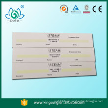 Label for medical use / steam sterilization indicator card
