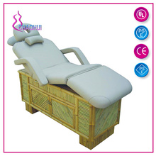 Multifungsi Spa Furniture Wooden Electric Facial Bed