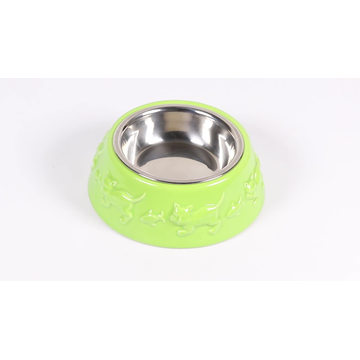 New Design Feeding Drinking Cute Custom Printed Round Ceramic Pet Bowl