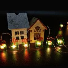 Natal levou luz de fada com caixa de presente