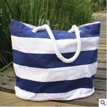 Canvas Beach Tote Bag