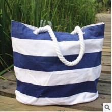 Canvas Strandtasche Shopper