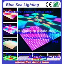 Disco Nachtclub DMX interaktive LED-Verleih Tanzboden Licht