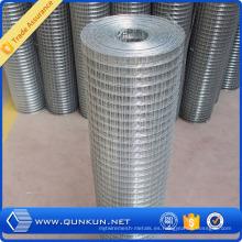 Malla de alambre soldada con autógena galvanizada al por mayor de China para la construcción (GWWM)