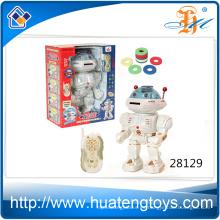 Chep precio divertido batería electrónica robot juguete para niños jugar