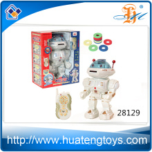 Chep price funny electronic battery operated robot toy for kids play