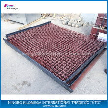 Crimped Wire Mesh for Vibrating Mesh with Hook