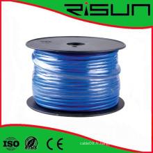 Câble CAT6 de réseau solide de câble de CAT6 de FTP de fabricant, boîte de traction de 1000 FT